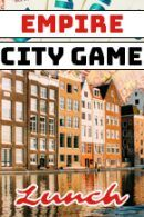 Lunch – Empire City Game – Borrel in Antwerpen