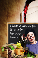 Plat Antwerps & Early Happy Hour