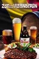 De Zot van Vlaanderen – Bierdegustatie – Steakdiner in Antwerpen