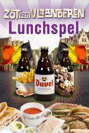 De Zot van Vlaanderen Lunchspel in Antwerpen