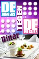 Jongens tegen de meisjes dinerquiz in Antwerpen